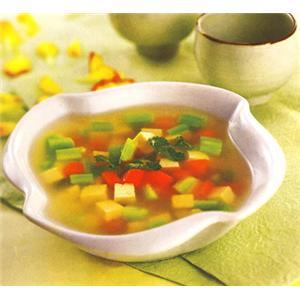 鸡丝鲜菇汤