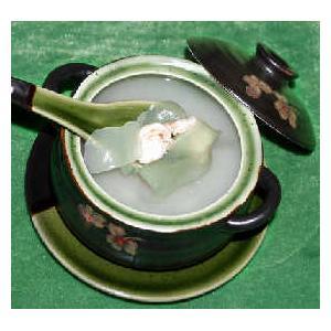 虾仁仙人掌汤