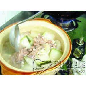 冬瓜薏米煲鸭