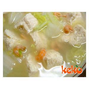豆腐炖菜心