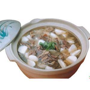 山药羊肉奶汤