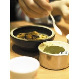 紫苏肉片粥