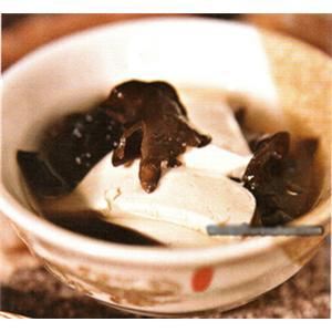 木耳炖豆腐
