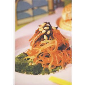 芝麻菠菜拌豆腐