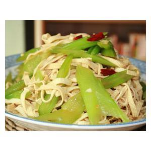 芹菜拌腐皮