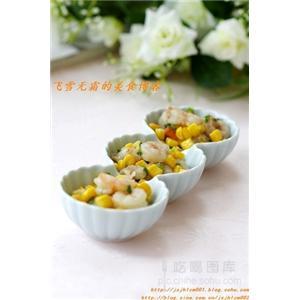 玉米烩虾仁