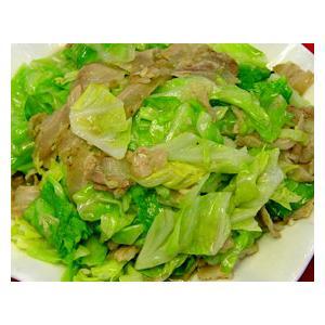 肉片炒卷心菜