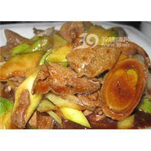 烤羊肝烟肉