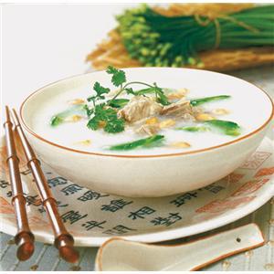 蒲菜煮鸡羹