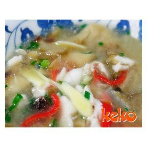 鲜草菇丝瓜鱼片汤