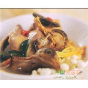 金针菇烩乳鸽