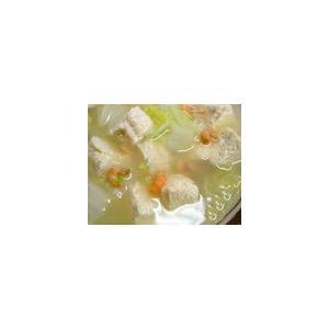 冻豆腐咸菜木耳豆芽汤