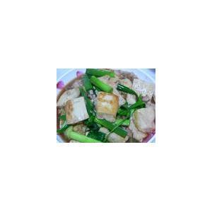 丝瓜焖豆腐