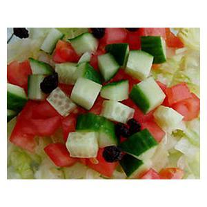 拌西红柿黄瓜