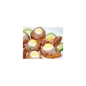 锅贴鹌鹑蛋