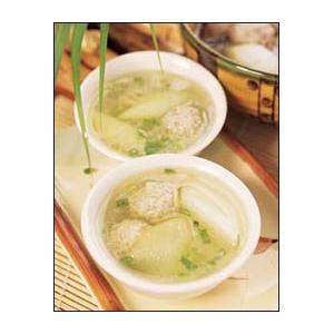 南瓜蛇粉汤