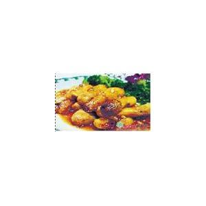 鸡腿菇炒鸭