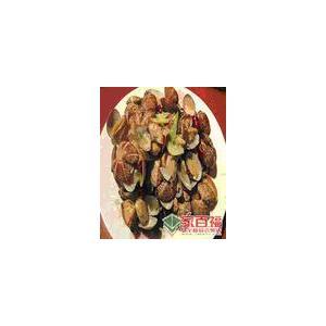 鸡皮炒蛤蜊