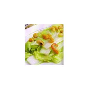 海米拌圆白菜
