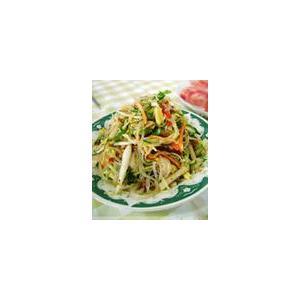 黄瓜丝拌白菜