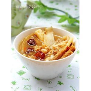 灵芝燕窝汤