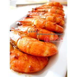 清汤牡丹大虾