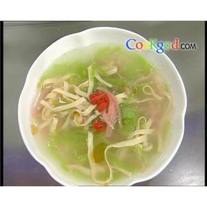 腐皮腰片汤