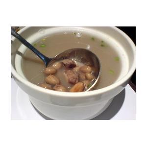 海带花生排骨汤
