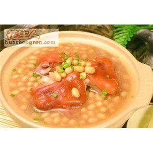 芫荽黄豆汤