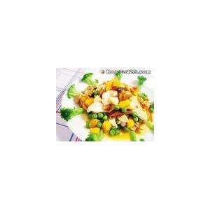 南瓜腐皮花生冬菇汤