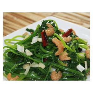 海米炝菠菜