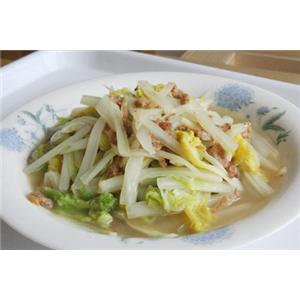 醋熘海米白菜