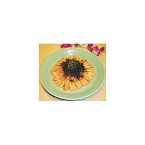 霉干菜蒸河虾