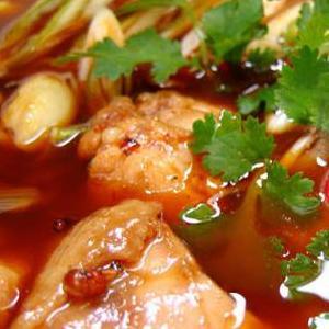 麻辣火锅鸡