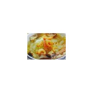 海米白菜鸡蛋汤