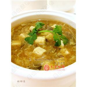 纹丝酸辣汤