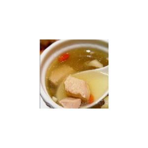 枸杞菜梗瘦肉汤