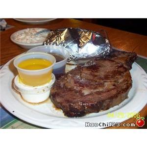 汉堡式牛肉扒