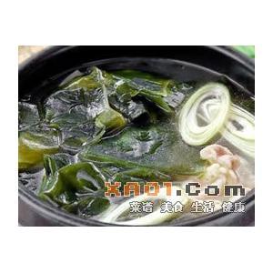 萝卜丝海带汤
