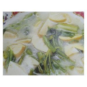 雪菜冬笋汤