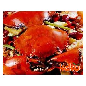 油煎连壳蟹