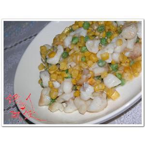 鱼米烩鲜豌豆