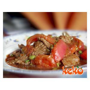 番茄黄焖牛肉