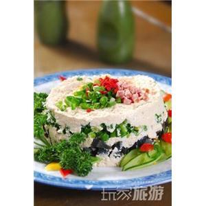 咸蛋豆腐饼