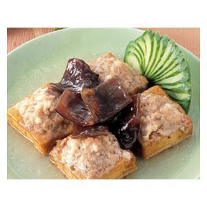 香菇肉馅酿豆腐