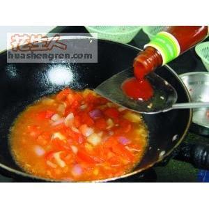 花生番茄鱼丁