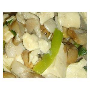 草菇豆腐羹