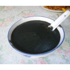 黑豆芝麻泥鳅汤