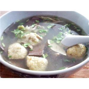 榨菜鸭肝汤