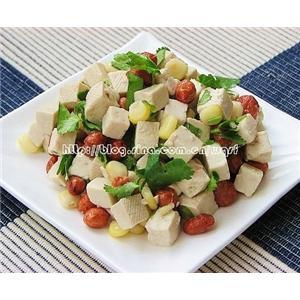花生玉米豆腐